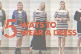 5 ways to wear a dress