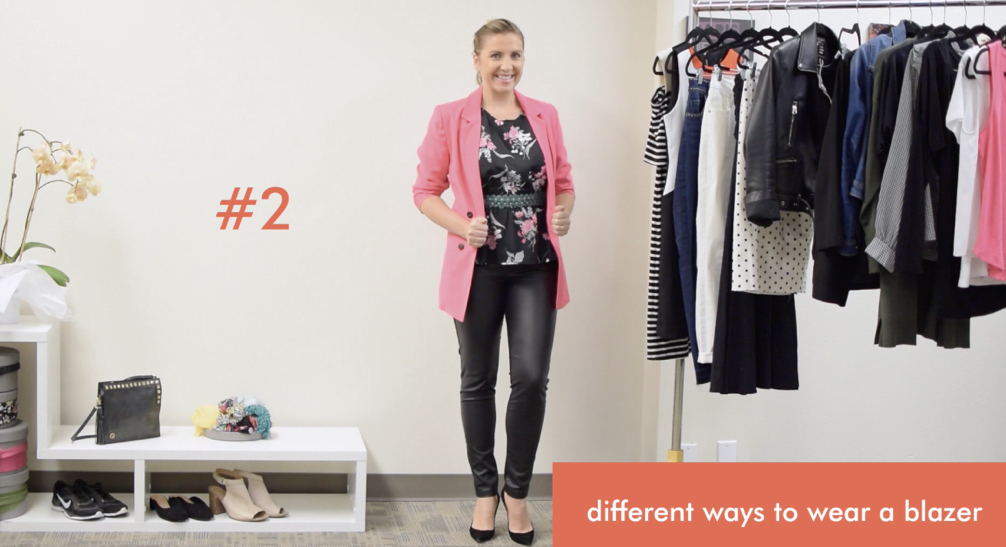 How to Style a Pink Blazer