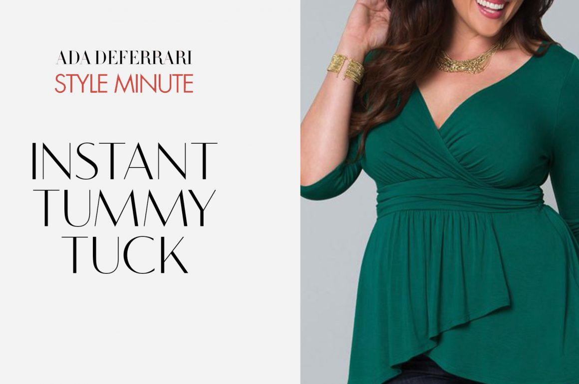 """Top 5 Ways to Instantly """"Flatter"""" The Tummy"""