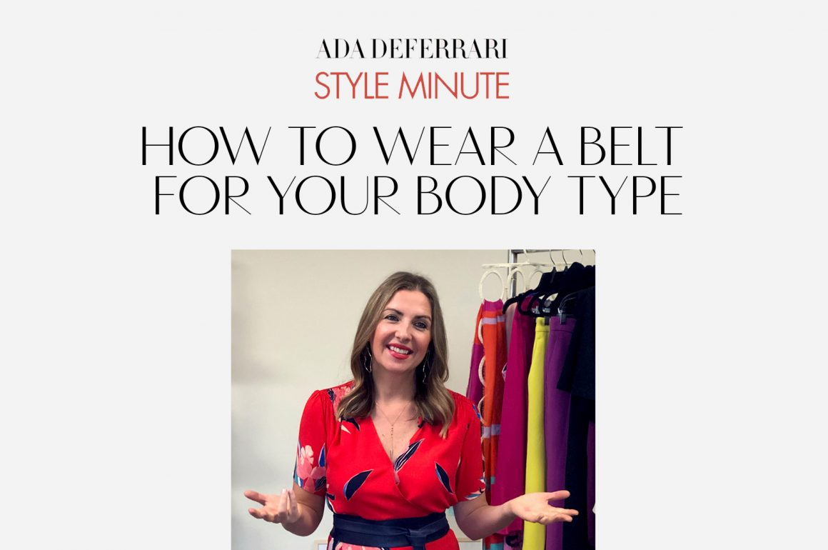 How to Wear a Belt For Your Body Type