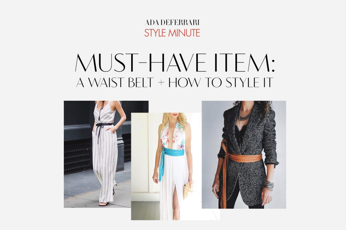 Wardrobe Must Have – The Wrap Belt