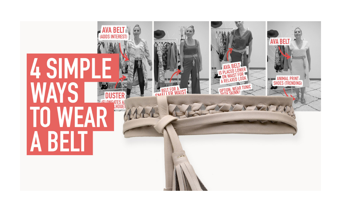4 Simple Ways to Wear a Belt