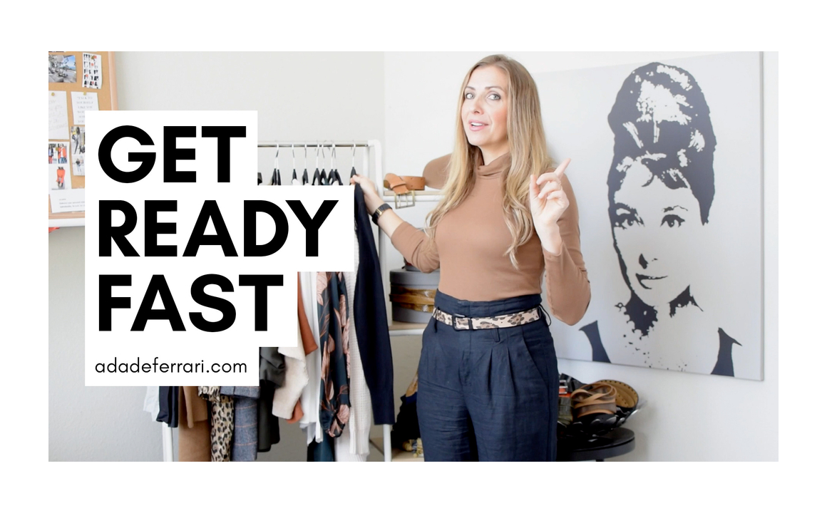 how to get ready fast in the morning ada deferrari