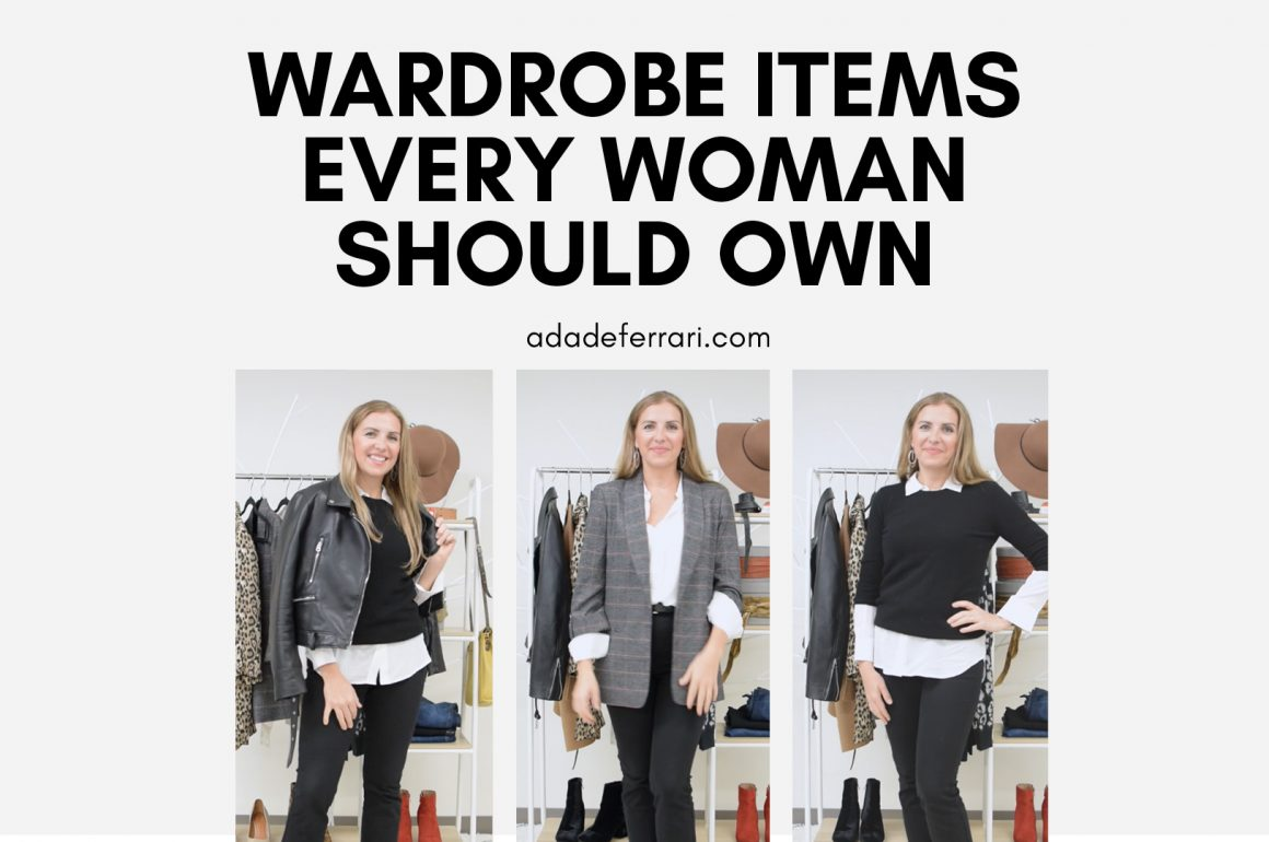 Wardrobe Items Every Woman Should Own