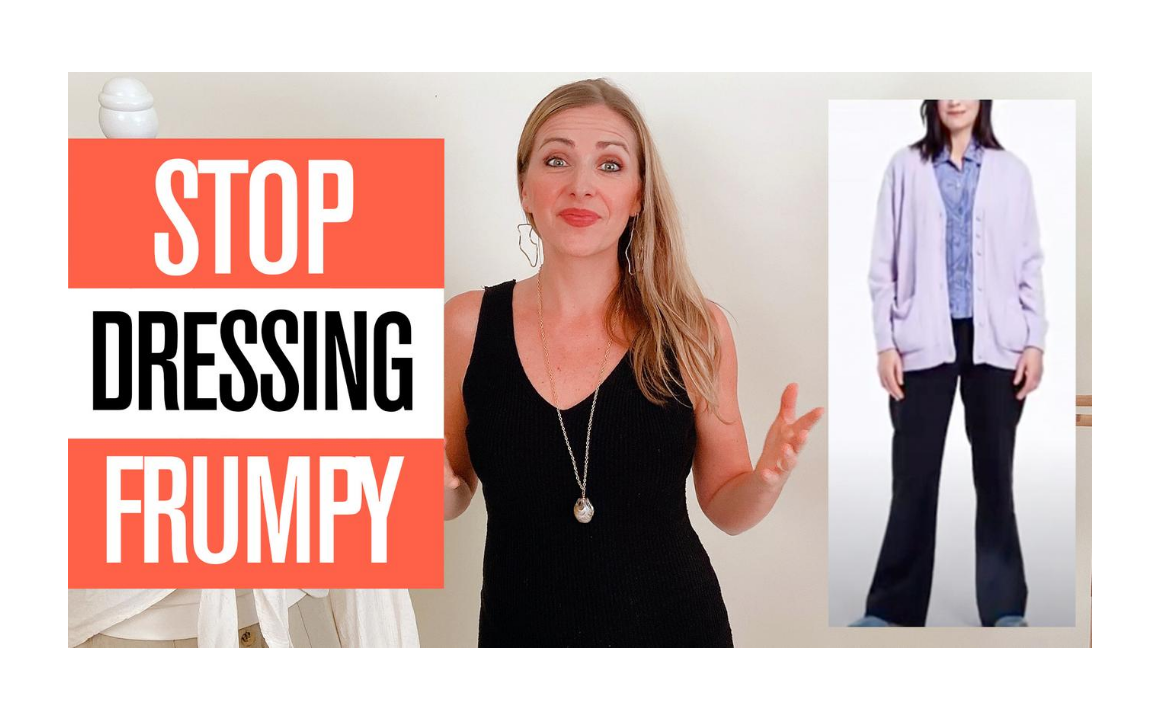 How to Stop Dressing Frumpy