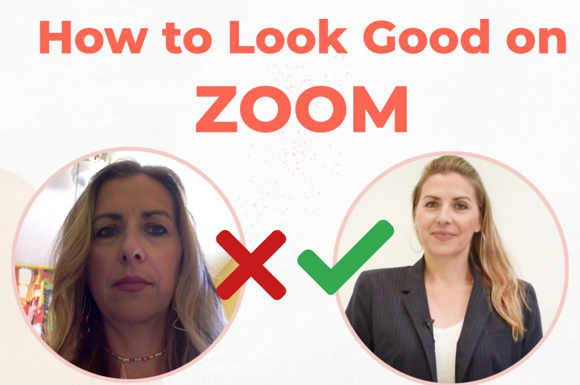 How To Look Good On Zoom Meetings | Easy tips from a styling expert | CHARM YOUR AUDIENCE!