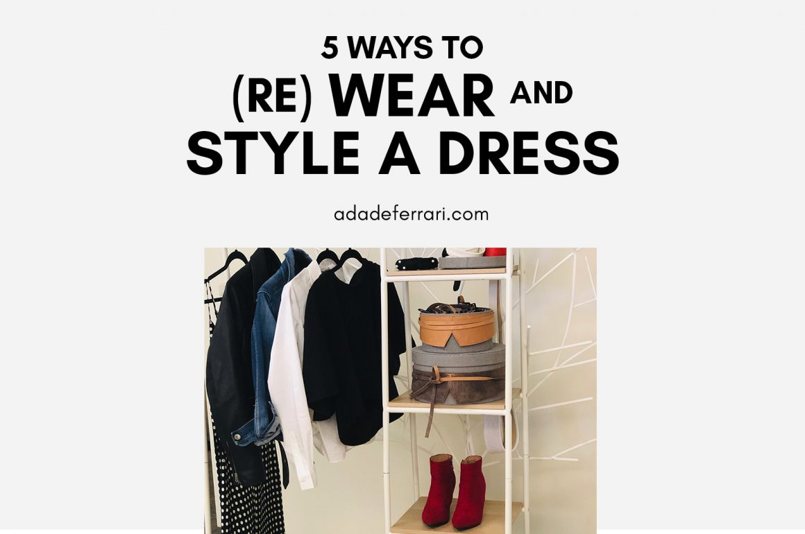 5 ways to update a dress