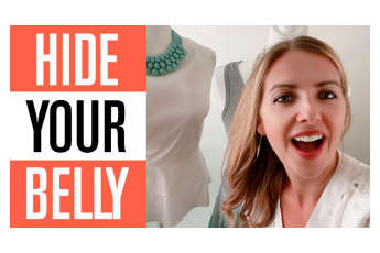 How to Dress to Hide a Belly (Dressing over 40:50)
